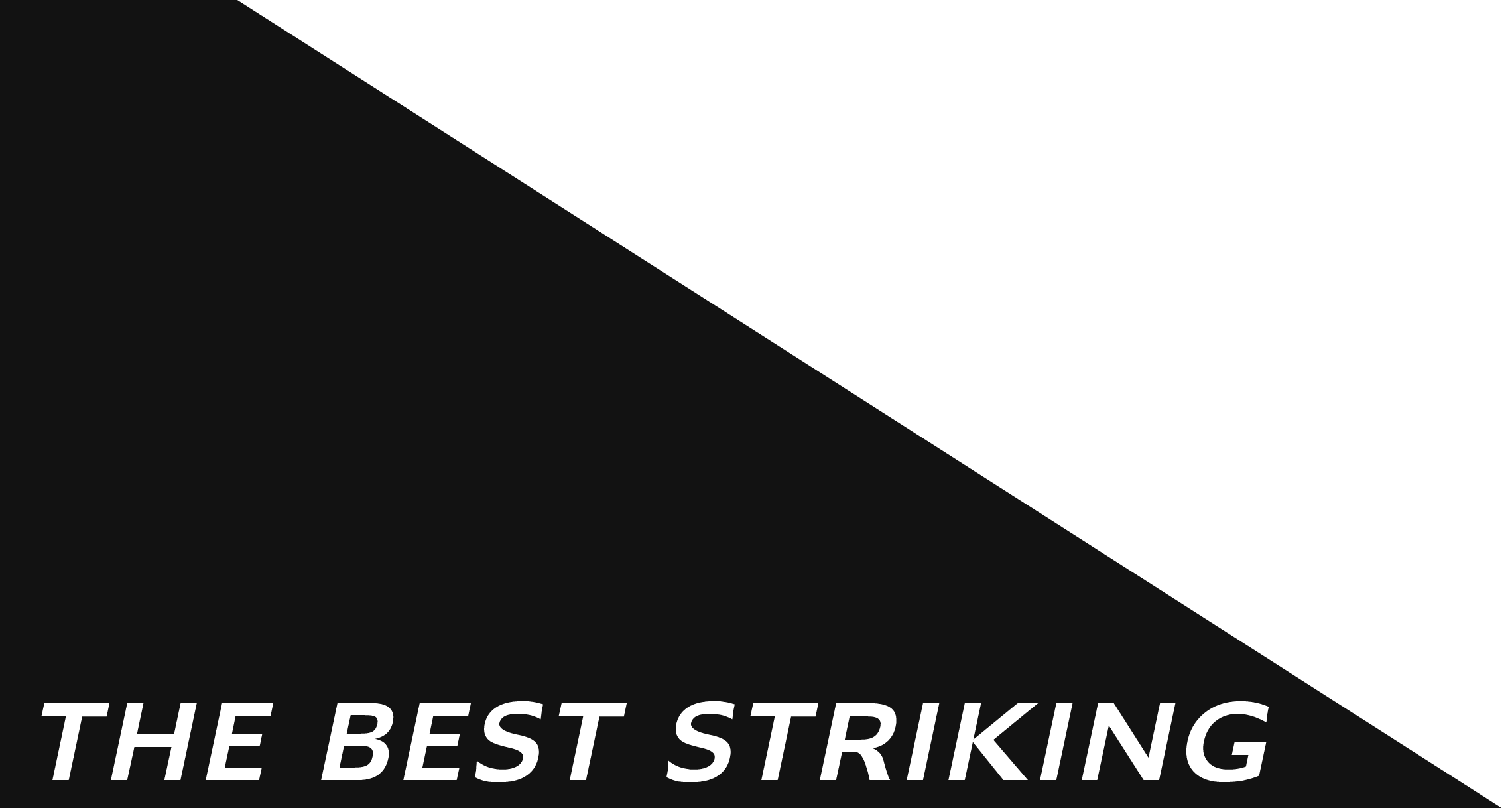 THE BEST STRIKING