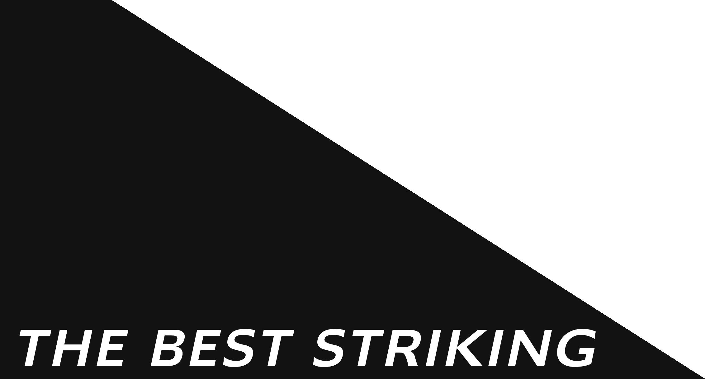 THE BEST STRIKING